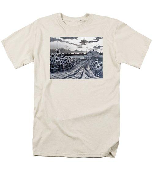 Sunflower Farm Men's T-Shirt  (Regular Fit) by Kevin F Heuman