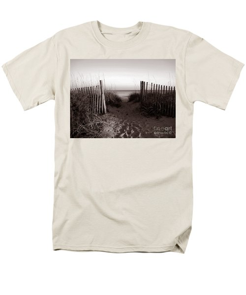 Sunrise At Myrtle Beach Sc Men's T-Shirt  (Regular Fit) by Susanne Van Hulst
