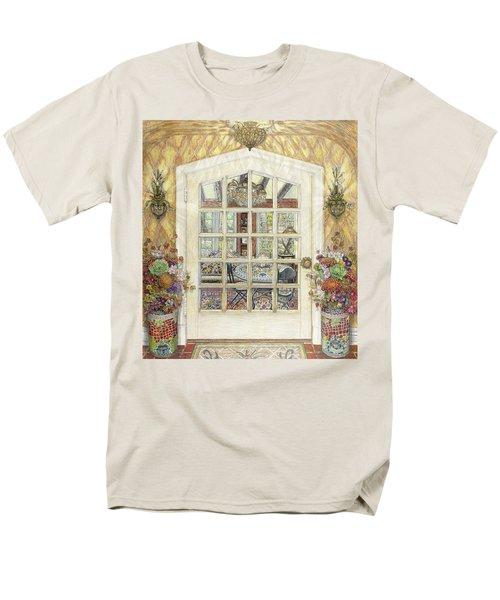 Sunroom Entrance Men's T-Shirt  (Regular Fit) by Bonnie Siracusa