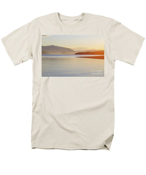 Sunset In The Mist Men's T-Shirt  (Regular Fit) by Victor K