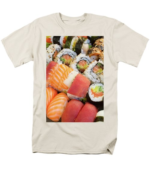 Sushi Dish Men's T-Shirt  (Regular Fit) by Anastasy Yarmolovich