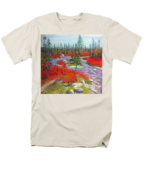 Susie Lake Barrens Men's T-Shirt  (Regular Fit) by Rae  Smith