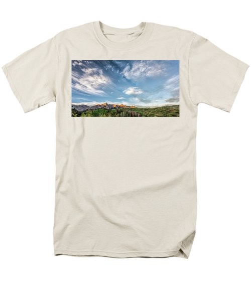 Sweeping Clouds Men's T-Shirt  (Regular Fit) by Jon Glaser