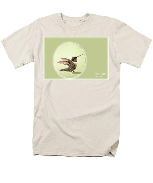 Men's T-Shirt  (Regular Fit) featuring the photograph Sweet Little Hummingbird by Bonnie Barry