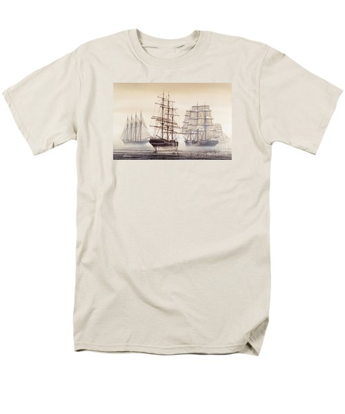Tall Ships Men's T-Shirt  (Regular Fit) by James Williamson