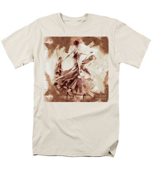 Men's T-Shirt  (Regular Fit) featuring the painting Tango Dance 9910j by Gull G