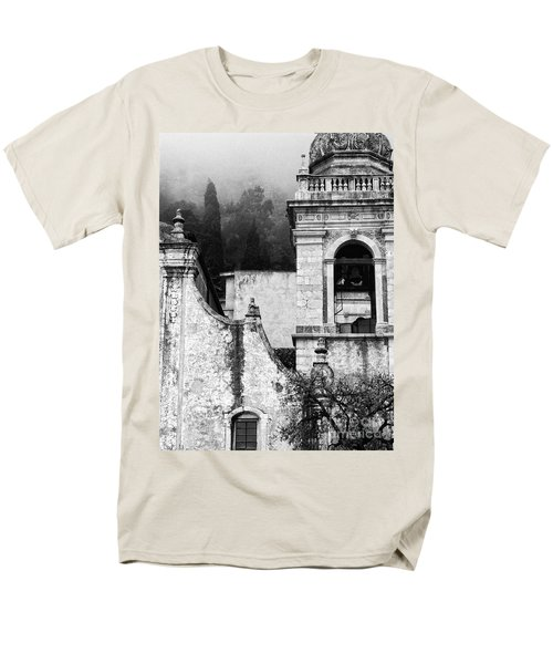 Taormina Church Detail Men's T-Shirt  (Regular Fit) by Silvia Ganora