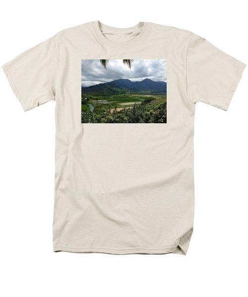 Taro Fields On Kauai Men's T-Shirt  (Regular Fit) by Brenda Pressnall