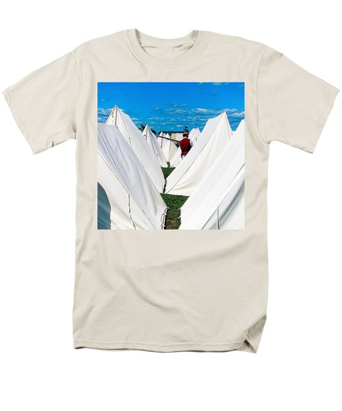 Field Of Tents Men's T-Shirt  (Regular Fit) by Kate Arsenault