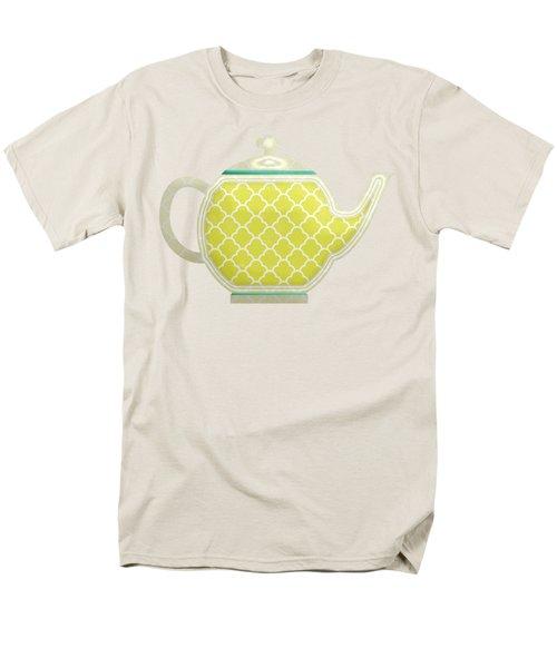 Teapot Garden Party 2 Men's T-Shirt  (Regular Fit) by J Scott