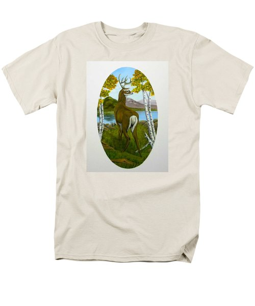 Teddy's Deer Men's T-Shirt  (Regular Fit) by Sheri Keith