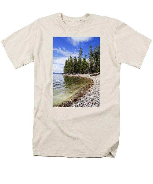 Teton Shore Men's T-Shirt  (Regular Fit) by Chad Dutson
