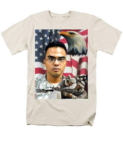 Texas Fallen Men's T-Shirt  (Regular Fit) by Ken Pridgeon
