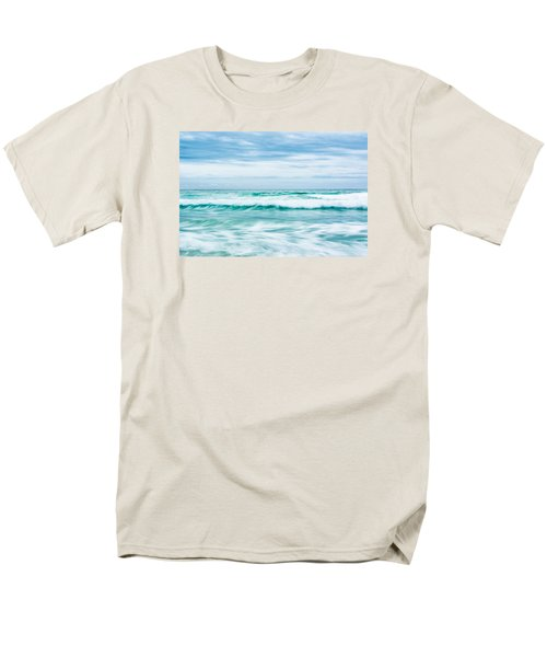 Textures In The Waves Men's T-Shirt  (Regular Fit) by Shelby  Young