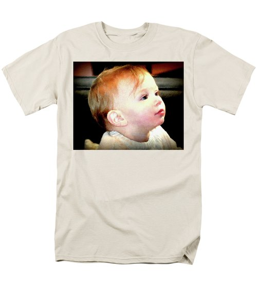 Men's T-Shirt  (Regular Fit) featuring the photograph The Age Of Innocence by Barbara Dudley