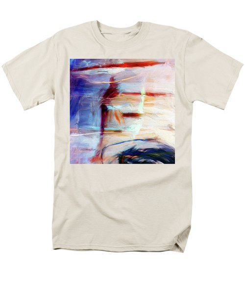 Men's T-Shirt  (Regular Fit) featuring the painting The Auberge by Dominic Piperata