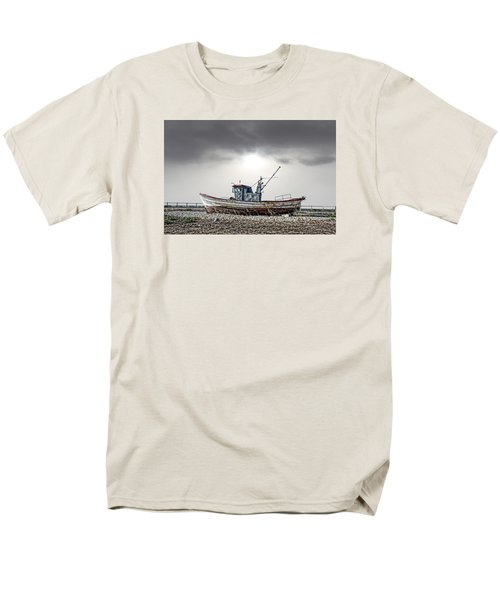 Men's T-Shirt  (Regular Fit) featuring the photograph The Boat by Angel Jesus De la Fuente
