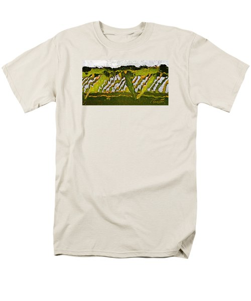 The Bridge - Me To You Men's T-Shirt  (Regular Fit) by Tom Cameron