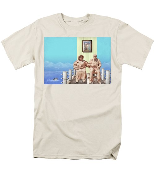 The Cadburys On Vacation Men's T-Shirt  (Regular Fit) by Marty Garland