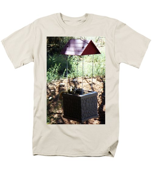 The Chipmunk And The Well Men's T-Shirt  (Regular Fit) by Joseph Frank Baraba