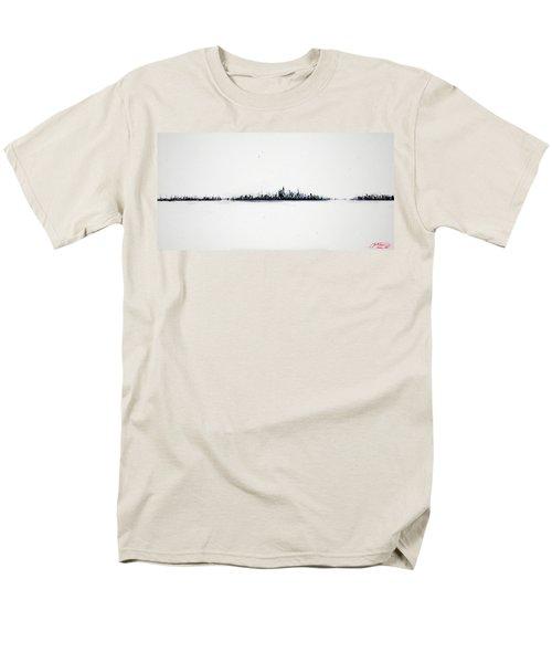 The City New York Men's T-Shirt  (Regular Fit)
