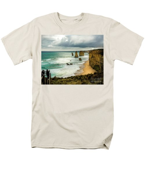Men's T-Shirt  (Regular Fit) featuring the photograph The Coast by Perry Webster