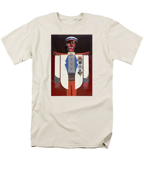 Men's T-Shirt  (Regular Fit) featuring the painting The Commander by Bob Coonts