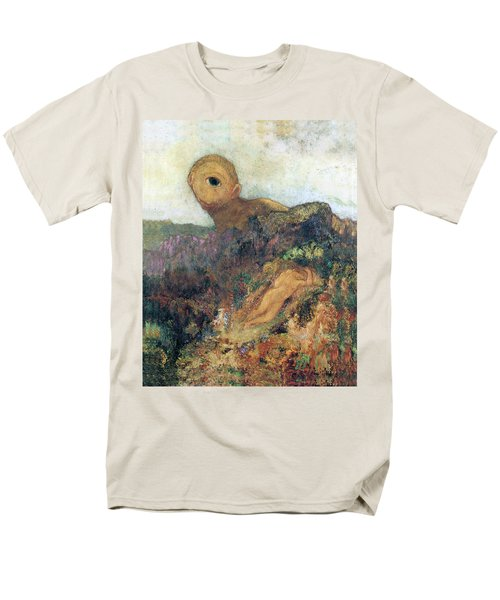 The Cyclops Men's T-Shirt  (Regular Fit) by Odilon Redon