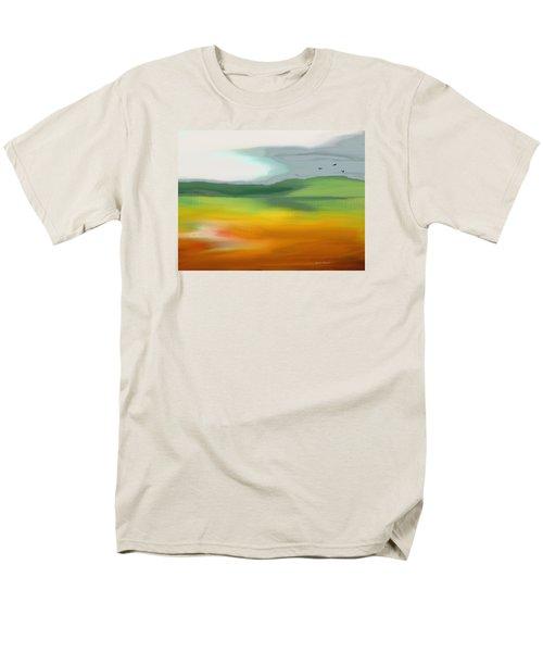The Distant Hills Men's T-Shirt  (Regular Fit) by Lenore Senior