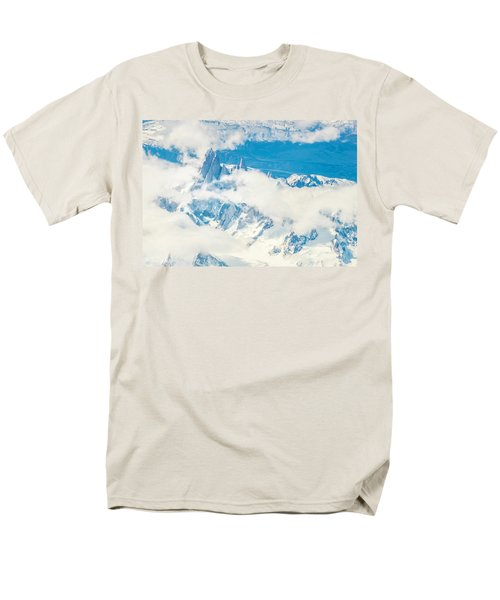 Men's T-Shirt  (Regular Fit) featuring the photograph The Fitz Roy by Andrew Matwijec