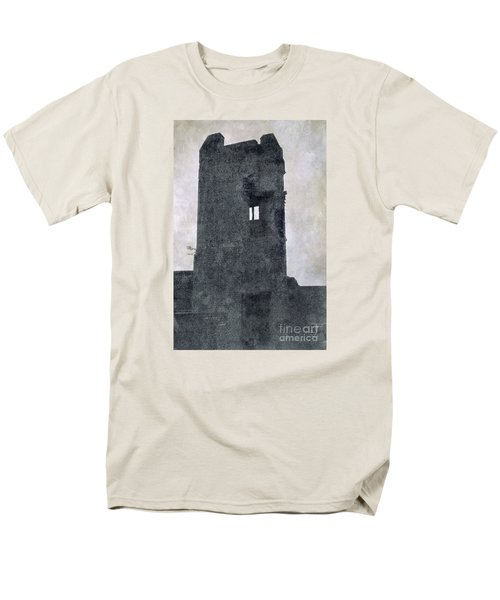 Men's T-Shirt  (Regular Fit) featuring the photograph The Ghostly Tower by Linsey Williams