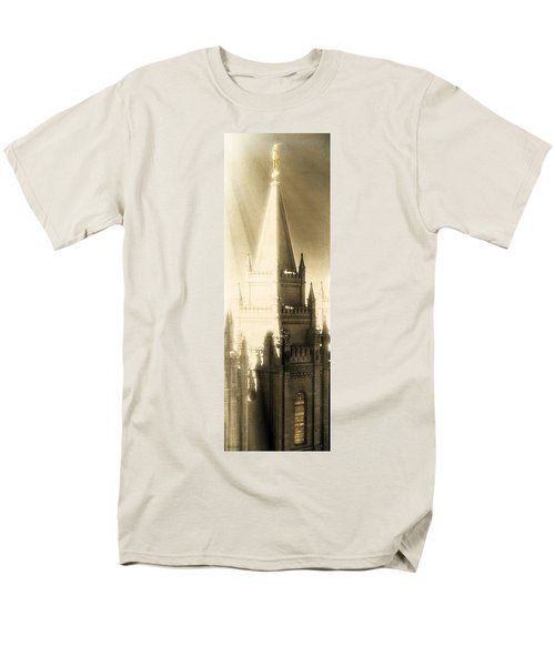 Men's T-Shirt  (Regular Fit) featuring the photograph The Glory Of The Lord Shone Round About by Greg Collins