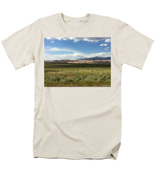 The Great Sand Dunes Men's T-Shirt  (Regular Fit) by Christin Brodie