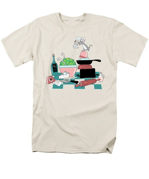 The Hungry Mouse Men's T-Shirt  (Regular Fit) by Little Bunny Sunshine