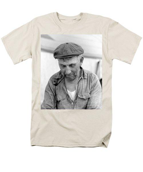 The Pipe Smoker Men's T-Shirt  (Regular Fit) by John Stephens