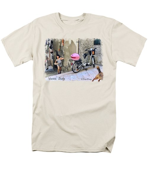 The Life.vieste.italy Men's T-Shirt  (Regular Fit) by Jennie Breeze