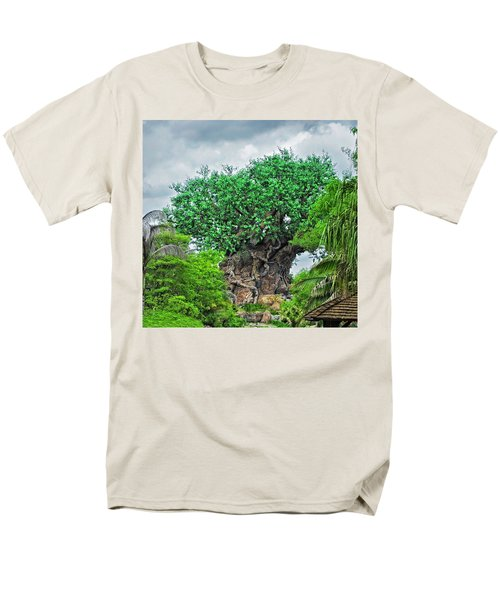 The Living Tree Walt Disney World Mp Men's T-Shirt  (Regular Fit) by Thomas Woolworth