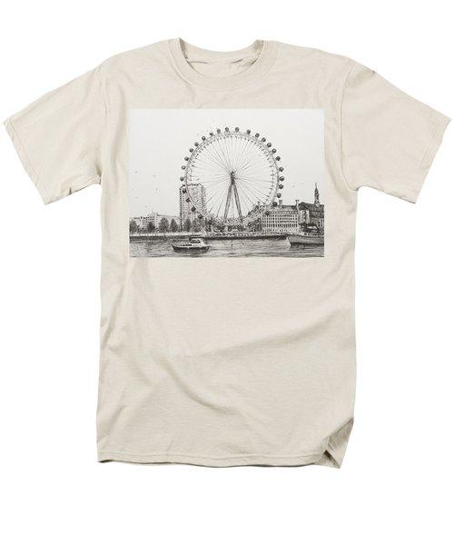 The London Eye Men's T-Shirt  (Regular Fit)