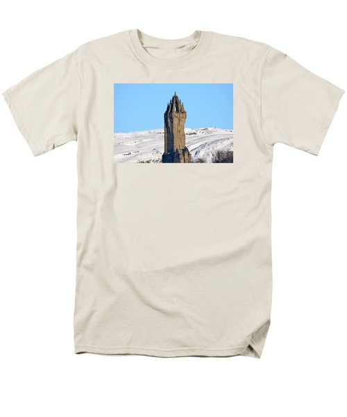 Men's T-Shirt  (Regular Fit) featuring the photograph The National Wallace Monument by RKAB Works