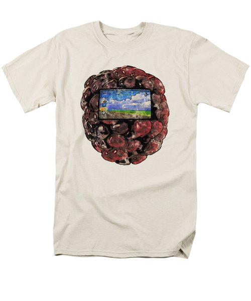 The Blackberry Concept Men's T-Shirt  (Regular Fit) by ISAW Gallery