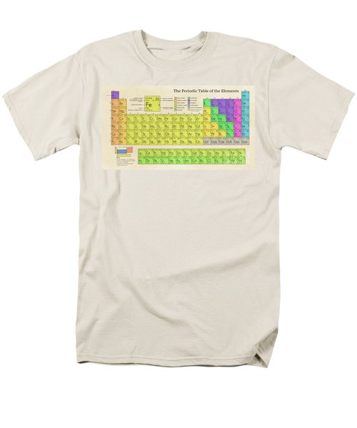 The Periodic Table Of The Elements Men's T-Shirt  (Regular Fit) by Olga Hamilton