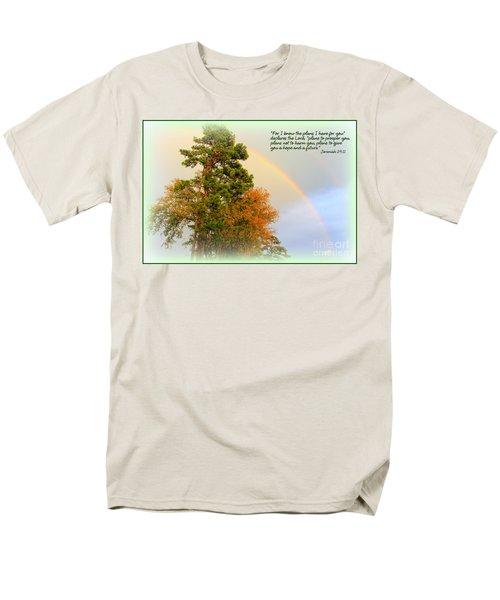 The Promises Of God Men's T-Shirt  (Regular Fit)