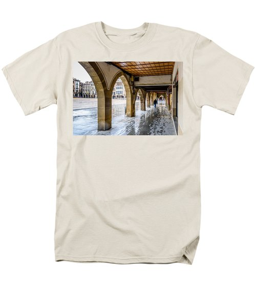 The Rain In Spain Men's T-Shirt  (Regular Fit) by Randy Scherkenbach