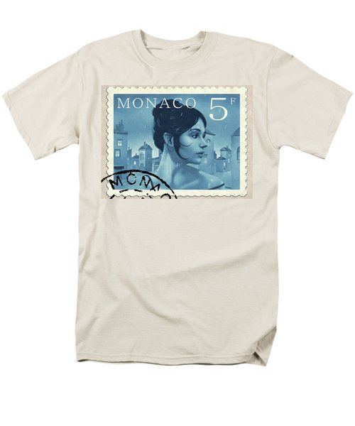 The Rainy Days Stamp Men's T-Shirt  (Regular Fit) by Udo Linke