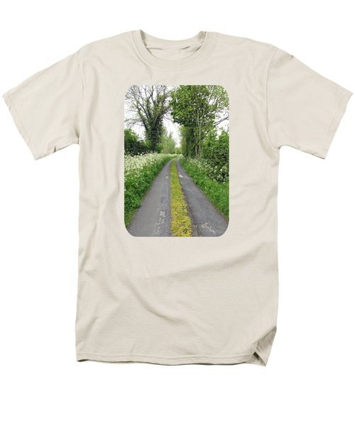 The Road To The Wood Men's T-Shirt  (Regular Fit) by Ethna Gillespie