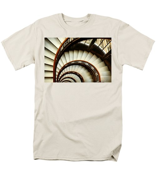 The Rookery Spiral Staircase Men's T-Shirt  (Regular Fit) by Ely Arsha