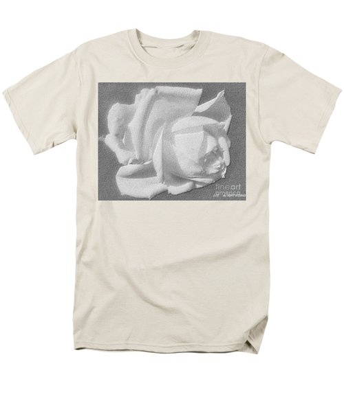 Men's T-Shirt  (Regular Fit) featuring the digital art The Rose by Saribelle Rodriguez