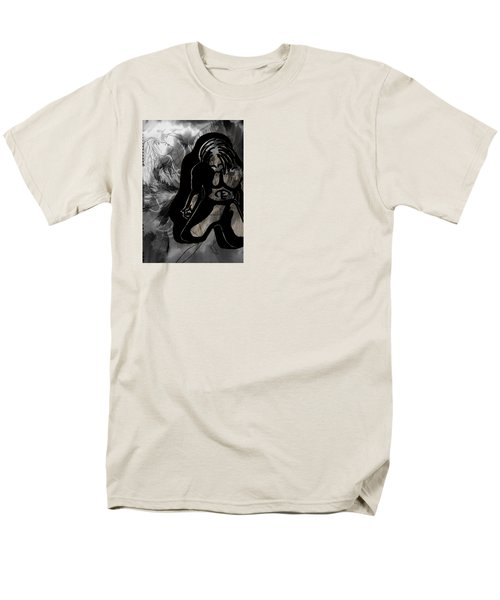 The Struggle Within Men's T-Shirt  (Regular Fit) by Sheila Mcdonald