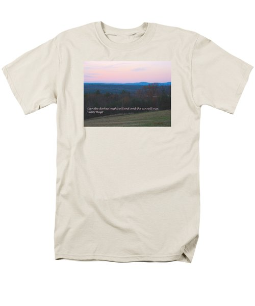 The Sun Will Rise Men's T-Shirt  (Regular Fit) by Deborah Dendler