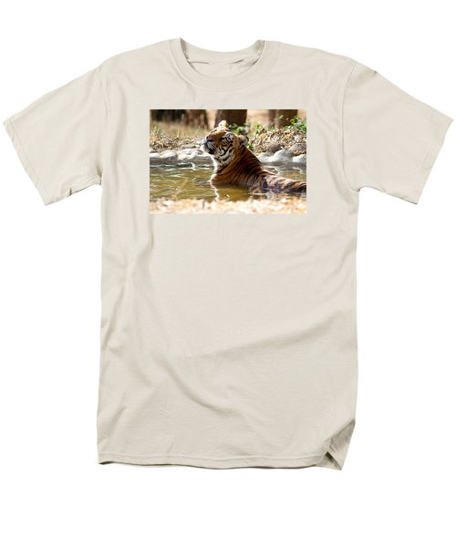 Men's T-Shirt  (Regular Fit) featuring the photograph The Thinker by Ramabhadran Thirupattur